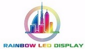 Rainbow Led Display Logo
